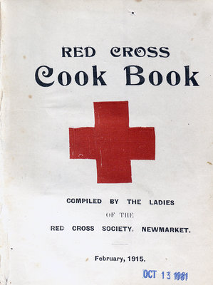 Red Cross Cookbook