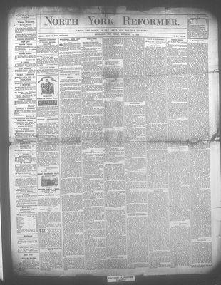 North York Reformer (Newmarket, ON18760908), 19 Nov 1880