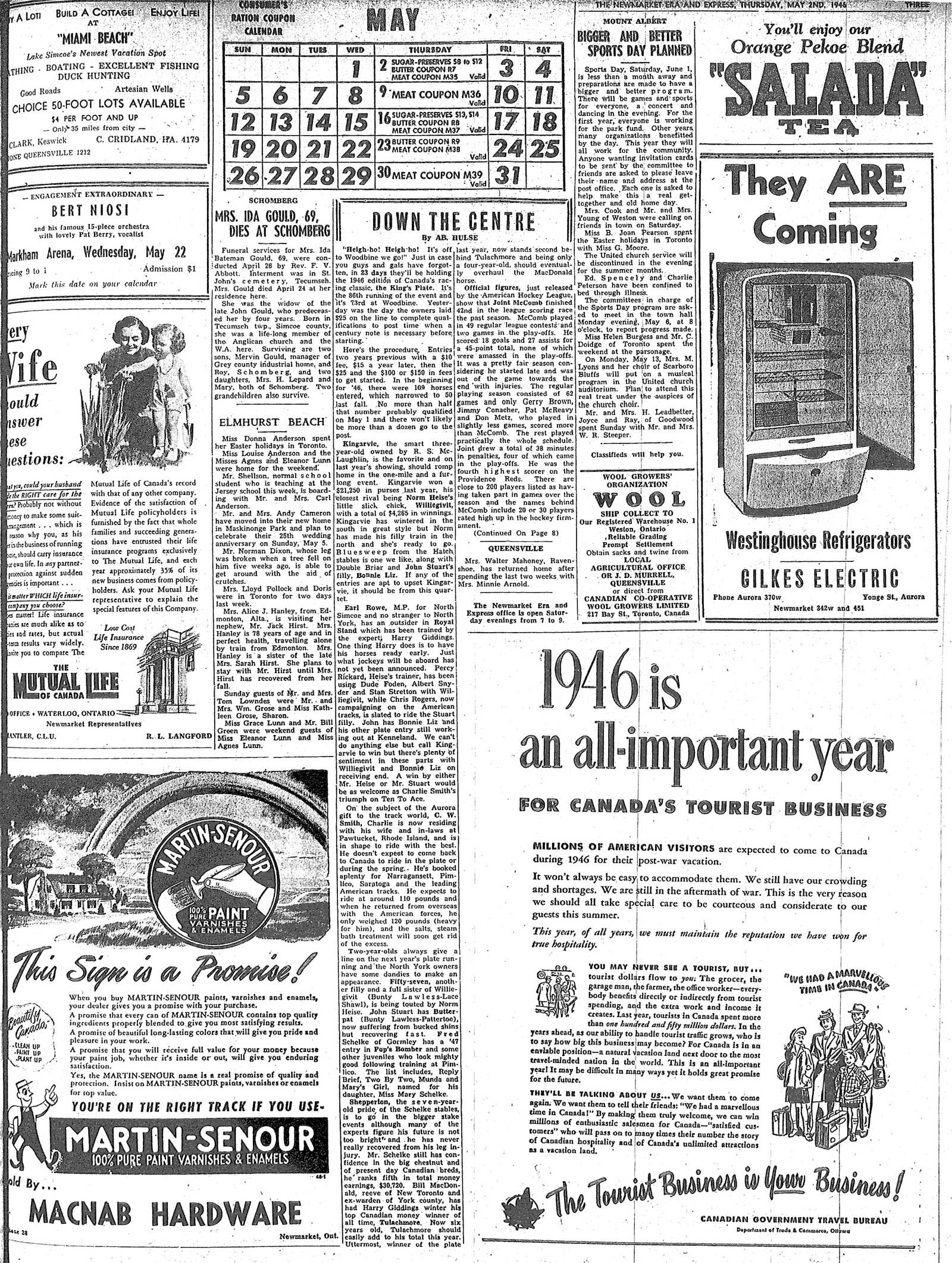 Newmarket Era and Express (Newmarket, ON), May 2, 1946