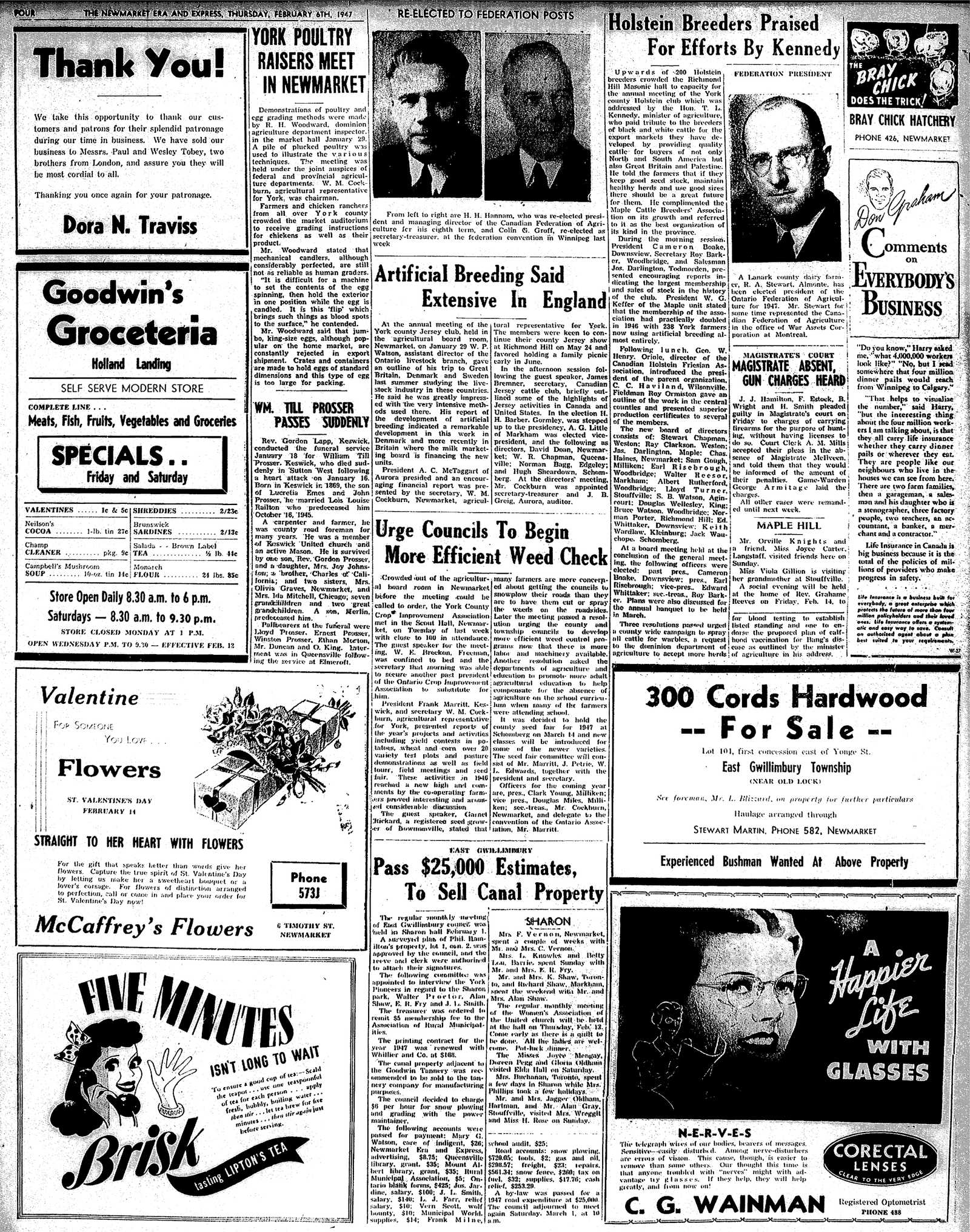 Newmarket Era and Express (Newmarket, ON), February 6, 1947