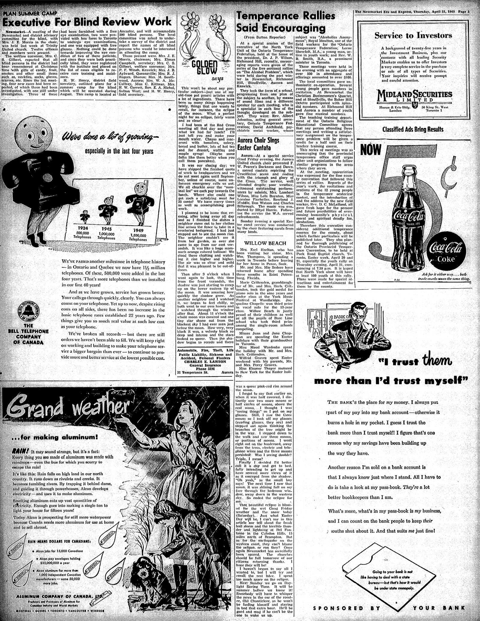 Newmarket Era and Express (Newmarket, ON), April 21, 1949