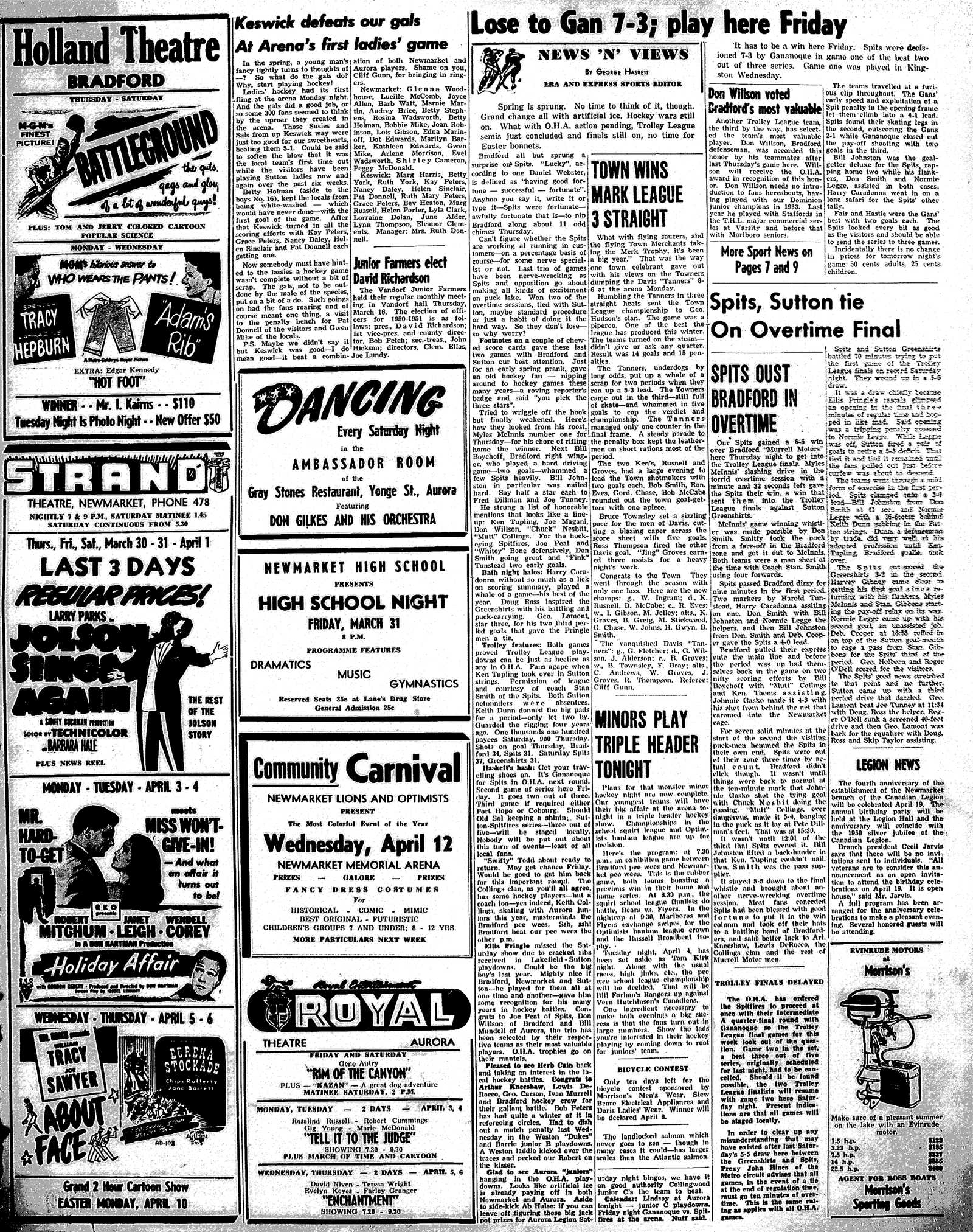 Newmarket Era and Express (Newmarket, ON), March 30, 1950
