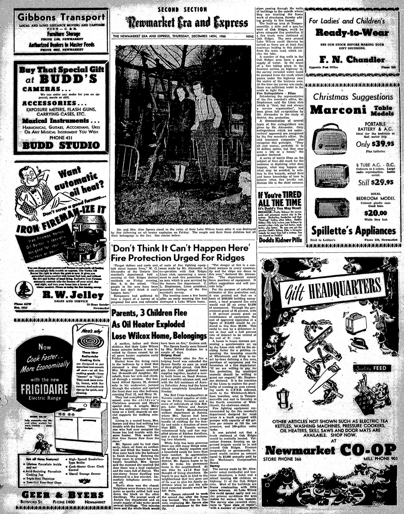 Newmarket Era and Express (Newmarket, ON), December 14, 1950