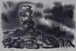 Night shifting stones