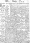 New Era (Newmarket, ON), September 22, 1854