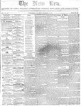 New Era (Newmarket, ON), December 11, 1857