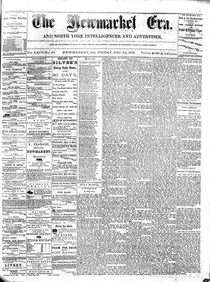 Newmarket Era (Newmarket, ON1861), December 24, 1875