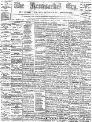 Newmarket Era (Newmarket, ON1861), May 11, 1877