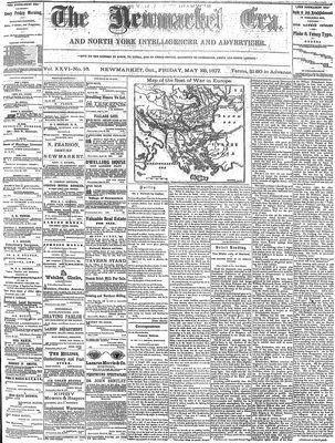 Newmarket Era (Newmarket, ON1861), May 25, 1877