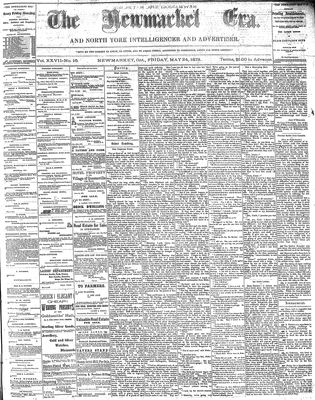 Newmarket Era (Newmarket, ON1861), May 24, 1878