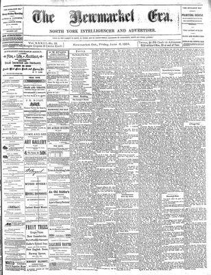 Newmarket Era (Newmarket, ON1861), June 6th, 1884