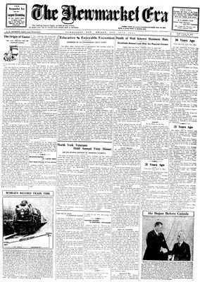 Newmarket Era (Newmarket, ON1861), April 18, 1930