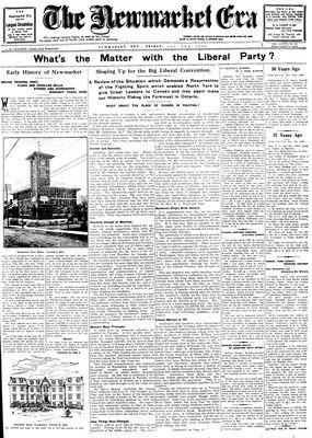 Newmarket Era (Newmarket, ON1861), December 5, 1930