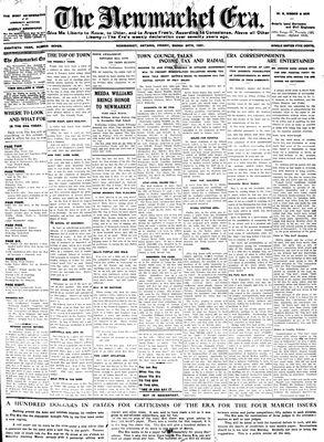 Newmarket Era (Newmarket, ON1861), March 20, 1931