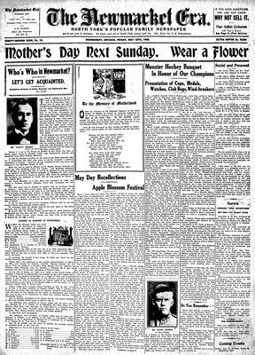 Newmarket Era (Newmarket, ON1861), May 12, 1933