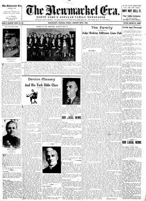 Newmarket Era (Newmarket, ON1861), January 26, 1934