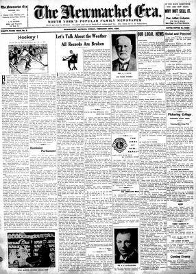 Newmarket Era (Newmarket, ON1861), February 16, 1934