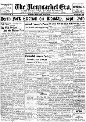 Newmarket Era (Newmarket, ON1861), July 27, 1934