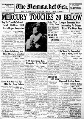 Newmarket Era (Newmarket, ON1861), January 24, 1935