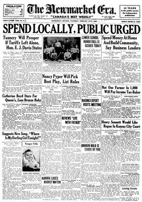 Newmarket Era (Newmarket, ON1861), February 27, 1936