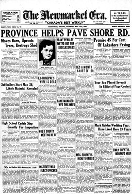 Newmarket Era (Newmarket, ON1861), May 14, 1936
