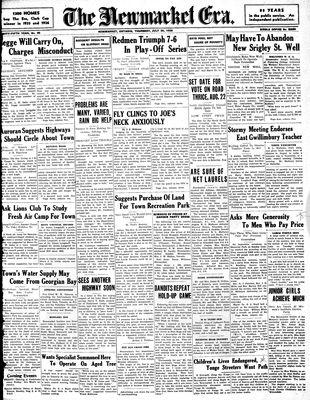 Newmarket Era (Newmarket, ON1861), July 30, 1936