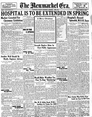 Newmarket Era (Newmarket, ON1861), December 22, 1937