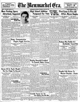 Newmarket Era (Newmarket, ON1861), June 2, 1938