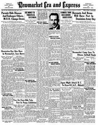 Newmarket Era and Express (Newmarket, ON), June 25, 1942