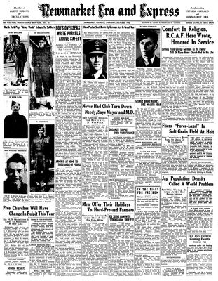 Newmarket Era and Express (Newmarket, ON), July 2, 1942