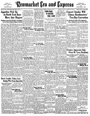 Newmarket Era and Express (Newmarket, ON), August 6, 1942