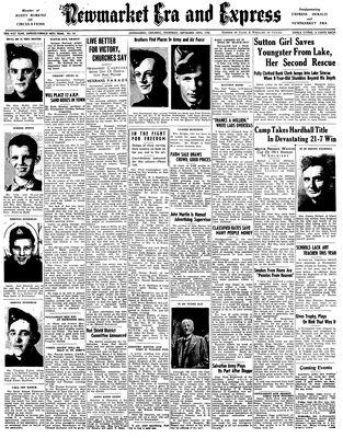Newmarket Era and Express (Newmarket, ON), September 10, 1942