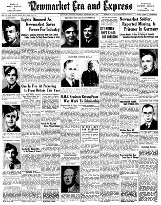 Newmarket Era and Express (Newmarket, ON), September 24, 1942