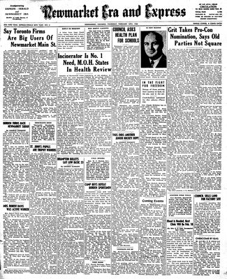 Newmarket Era and Express (Newmarket, ON), February 10, 1944