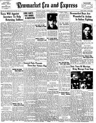 Newmarket Era and Express (Newmarket, ON), June 1, 1944