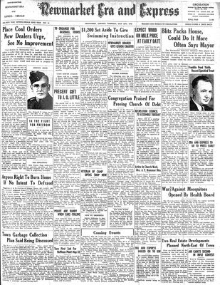Newmarket Era and Express (Newmarket, ON), May 16, 1946