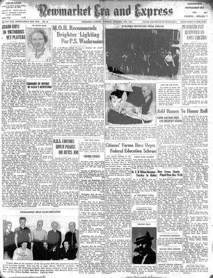 Newmarket Era and Express (Newmarket, ON1942), November 14, 1946