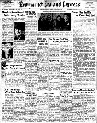 Newmarket Era and Express (Newmarket, ON), January 30, 1947
