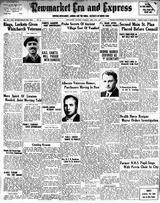 Newmarket Era and Express (Newmarket, ON), April 17, 1947