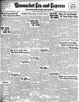 Newmarket Era and Express (Newmarket, ON), July 17, 1947
