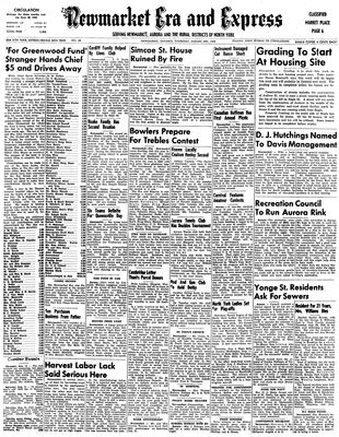 Newmarket Era and Express (Newmarket, ON), August 5, 1948