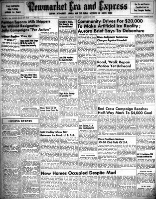 Newmarket Era and Express (Newmarket, ON), March 31, 1949