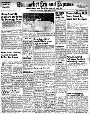 Newmarket Era and Express (Newmarket, ON), February 16, 1950