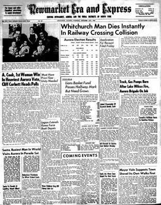 Newmarket Era and Express (Newmarket, ON), December 14, 1950