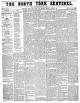 North York Sentinel (Newmarket, ON)27 Mar 1856