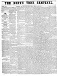 North York Sentinel (Newmarket, ON), April 3, 1856