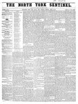 North York Sentinel (Newmarket, ON), April 10, 1856