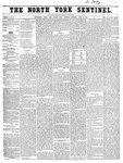North York Sentinel (Newmarket, ON), April 24, 1856
