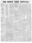 North York Sentinel (Newmarket, ON)15 May 1856
