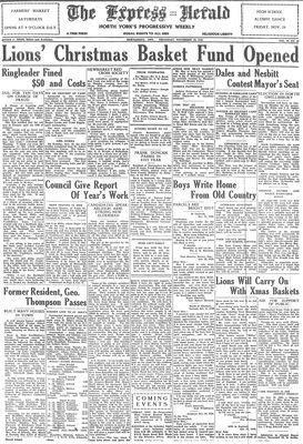 Express Herald (Newmarket, ON), November 28, 1940